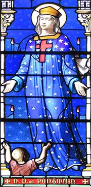 Neuvaine à Notre Dame de Pontmain du 9 au 17 janvier 2021 - 150e anniversaire - Fête de l'apparition B8fe818a-e66d-4c89-a0b7-06c92211bb06_NDPontmainVitrail-taillemoyenne