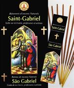 Encens naturel Saint Gabriel - Lot de 12 boites de 10 batonnets