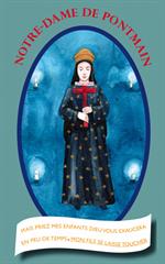 Image plastifiée Notre Dame de Pontmain