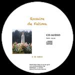 CD audio Rosaire avec Notre-Dame de Fatima - 2 CD