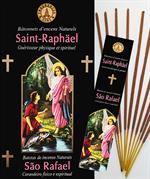 Encens naturel Saint Raphaël - Lot de 12 boites de 10 batonnets
