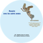 CD audio Rosaire avec les Saints Anges - 2 CD