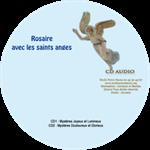 CD audio Rosaire avec les Saints Anges - 2 CD