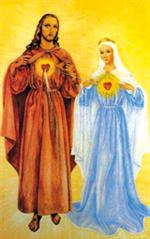 Image plastifiée de Notre Dame de Kérizinen