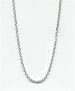 Chaîne argent massif - 30 cm - maille intermédiaire (016)