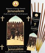 Encens naturel Jérusalem - Lot de 12 boites de 10 batonnets