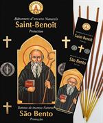 Encens naturel Saint Benoît - Lot de 12 boites de 10 batonnets