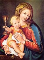 Image plastifiée Notre Dame du Précieux Sang