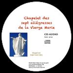 CD audio - Chapelet des 7 allégresses de la Vierge Marie