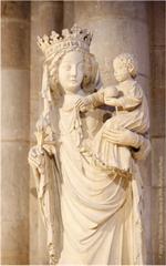 Image plastifiée Notre Dame de Paris