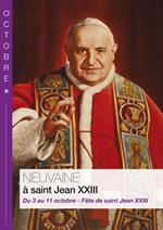 Neuvaine à Saint Jean XXIII