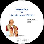 CD Neuvaine à Saint Jean XXIII
