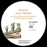 CD audio Rosaire avec l'Eglise - 2 CD