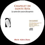 CD audio - Chapelet de sainte Rita