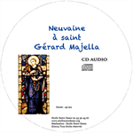 CD Neuvaine Gérard Majella