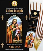 Encens naturel Saint Joseph - Lot de 12 boites de 10 batonnets