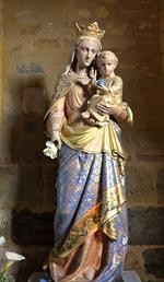 Image plastifiée de l'Angélus - Notre-Dame de Rocamadour