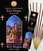 Encens naturel Rois Mages - Lot de 12 boites de 10 batonnets