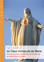 Neuvaine Coeur Immaculé de Marie