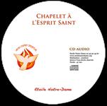 CD audio - Chapelet du Saint Esprit 5x7