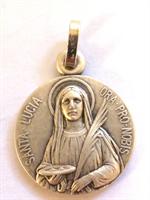 Médaille Sainte Lucie 16 mm