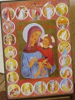 Icône Notre Dame du Rosaire 602.72