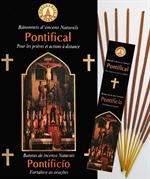 Encens naturel Pontifical - Lot de 12 boites de 10 batonnets