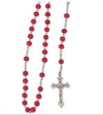 Chapelet Vierge Miraculeuse parfumé à la rose