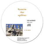 CD audio Rosaire des Apôtres (2 CD)