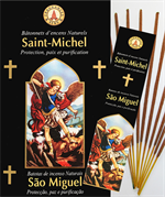 Encens naturel Saint Michel - Lot de 12 boites de 10 batonnets
