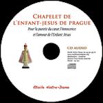 CD audio - Chapelet de l'Enfant Jésus de Prague