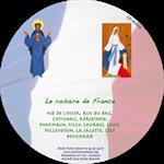 CD audio Rosaire des messages de France avec Marie (2 CD)