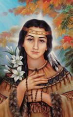 Image Sainte Kateri Tekakwita