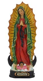 Statue Notre Dame de Guadalupe - 20 cm