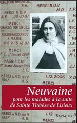 Neuvaine pour les malades à la suite de Ste Thérèse de Lisieux