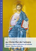 Neuvaine au Christ Roi de l'Univers