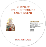 CD audio - Chapelet de saint Joseph
