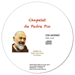 CD audio - Chapelet de saint Padre Pio