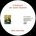 CD audio - Chapelet de Saint Benoît