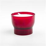 Bougie veilleuse rouge (lot de 10)