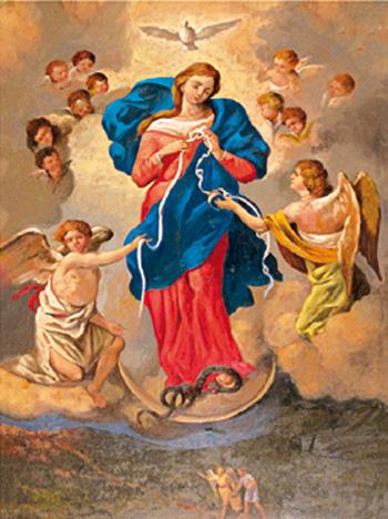 Image Marie qui défait les noeuds